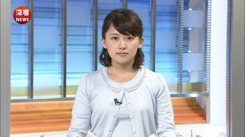 尾崎里紗さん 『深層NEWS』 2015...
