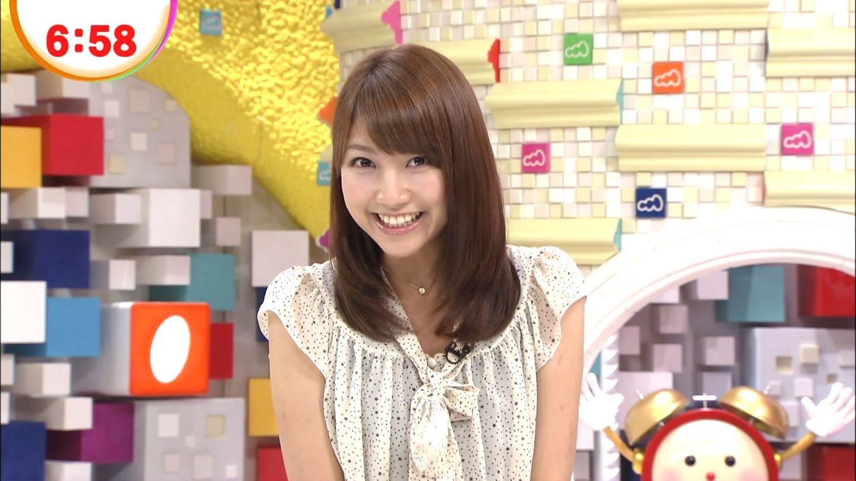 めざましテレビに出ていた時の三田友梨佳