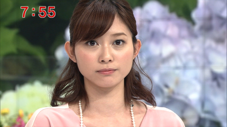 真顔の久冨慶子
